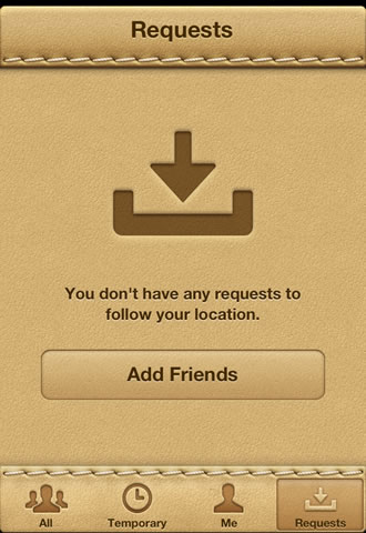 Find My Friends for iPhone: how to add friends