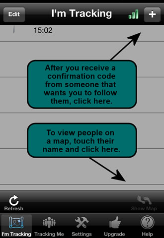 GPS tracker cell phone tracking iPhone app